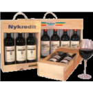 2 flaskers logokasser  prisen er excl. vin - 8 dages leveringstid